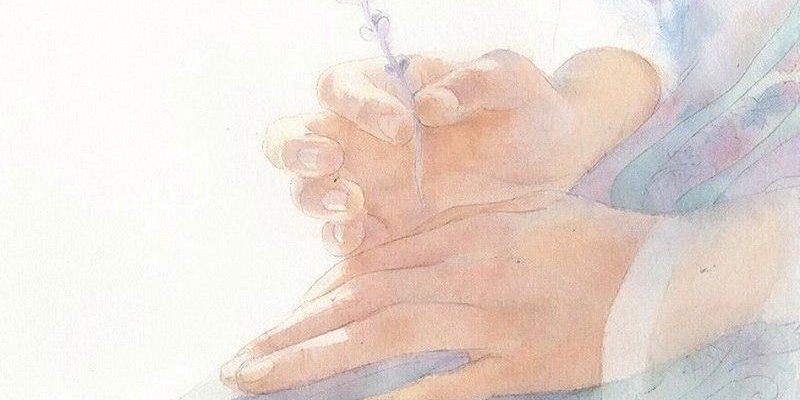 твои руки поцеловал Бог