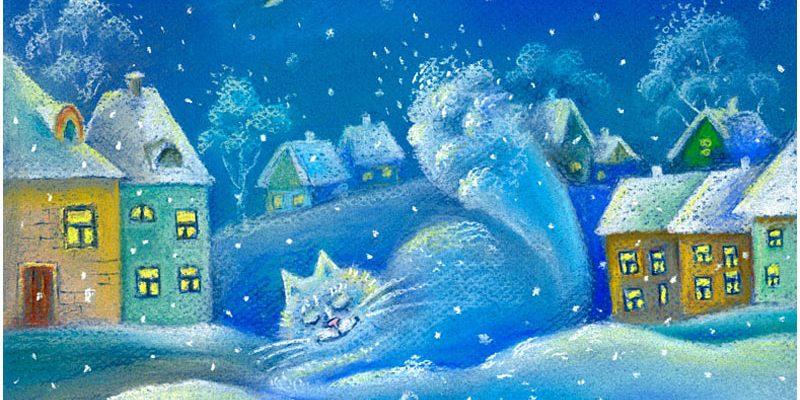 Зимний вечер-дивный сон